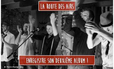 Visueel van project La route des airs - Deuxième album