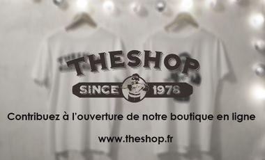 Project visual TheShop : boutique de Tee-shirts en ligne et bien plus