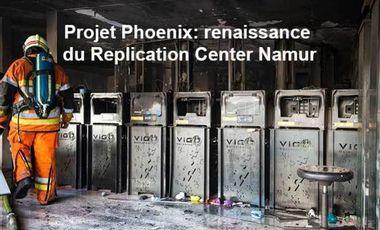 Visueel van project Projet Phoenix: renaissance du Replication Center Namur