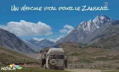 Project visual Un véhicule vital pour le Zanskar