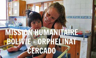 Visueel van project Mission Humanitaire Orphelinat de Cercado août 2016