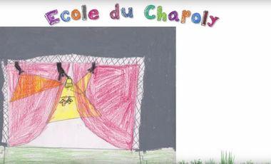 Project visual RIRE et JOUER à l'école : une SCENE pour le CHAPOLY
