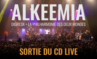 Project visual CD Alkeemia Live
