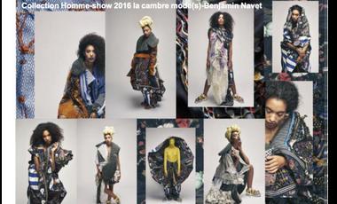 Visueel van project Objectif collection  homme pour le show 2016 de la Cambre Mode(s)