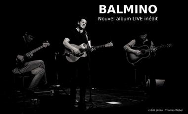 Project visual Nouvel album Live Balmino