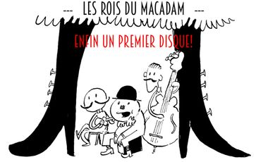 """Visueel van project Les Rois du Macadam: """"Enfin un premier disque !"""""""