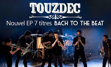 """Visuel du projet Nouvel EP des Touzdec """"Bach to the Beat"""""""
