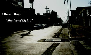 "Project visual Olivier Bogé - 2nd album "" Shades of Lights"""