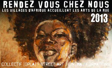 Visueel van project [OPLA] @ Festival Rendez-vous chez nous 2013, Burkina Faso