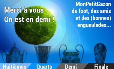 Visueel van project Mon Petit Gazon : du foot, des amis et des (bonnes) engueulades