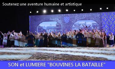 Visueel van project Son et Lumière Bouvines la Bataille