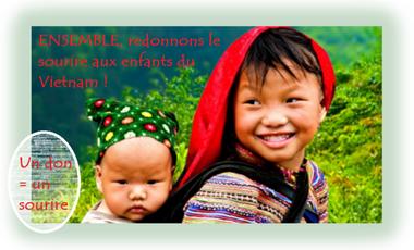 Visuel du projet Ensemble, redonnons le sourire aux enfants du Vietnam !