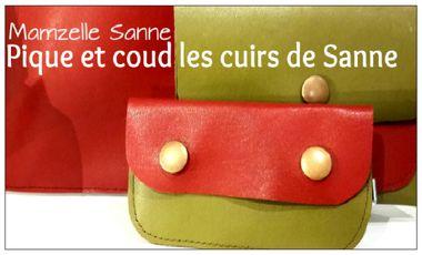 Project visual Pique et coud les cuirs de Sanne