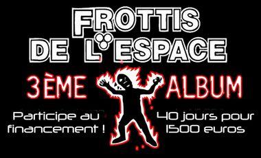 Project visual Frottis de l'Espace : Participez au lancement du 3ème album !