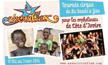Visuel du projet Tournée cirque pour les orphelinats de Côte d'Ivoire