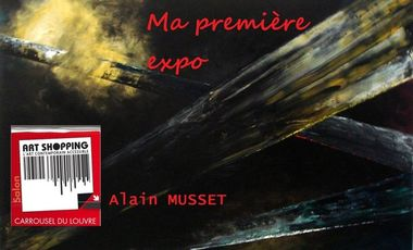 Project visual Ma première expo : Art Shopping