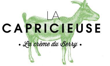 Project visual La Capricieuse, liqueur du Berry à base de lait de chèvre