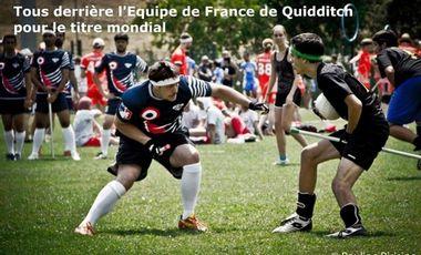 Visueel van project Quidditch : aidez la France à devenir championne du Monde !