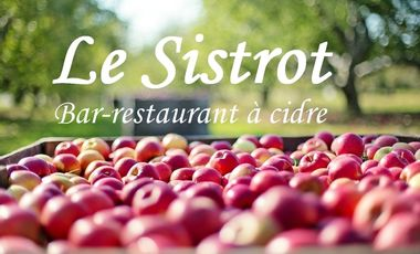 Project visual Le Sistrot, bar-restaurant à cidre