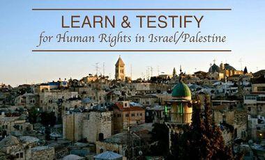Visuel du projet LEARN & TESTIFY - for Human Rights in Israel/Palestine