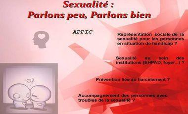 Project visual Journée d'étude autour de la sexualité !