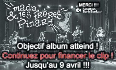 Project visual 1er album studiode Mado & les frères Pinard !