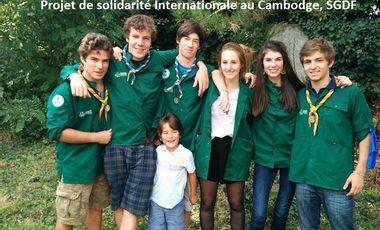 Project visual Projet solidaire pour les enfants de la rizière - Cambodge - SGDF