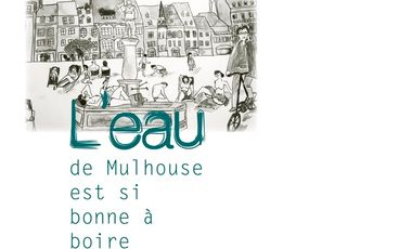 """Visueel van project Participez au développement des carafes """"L'eau de Mulhouse"""""""