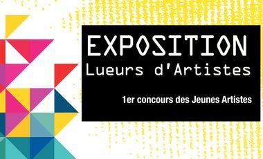 Project visual Exposition Lueurs d'Artistes