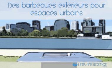 Project visual Barbecue & plancha d'extérieur pour espaces urbains