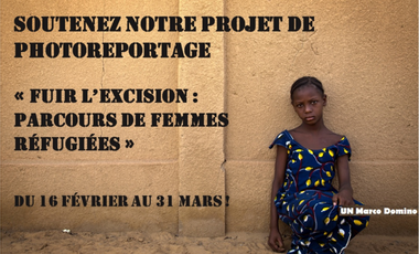 Visueel van project « Fuir l'excision : Parcours de femmes réfugiées »