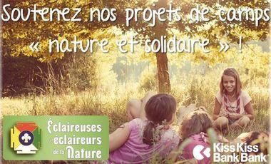 """Visueel van project Soutenez nos camps """"nature et solidaire"""" !"""