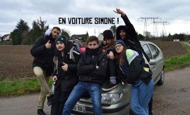 Visuel du projet En voiture Simone !