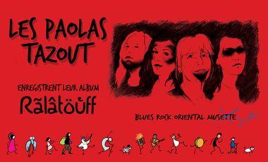 Visuel du projet LES PAOLAS TAZOUT : L'ALBUM !