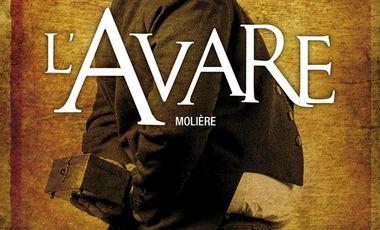 Project visual L'Avare au festival d'Avignon