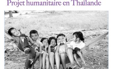 Project visual Les aventures de Priss & Tom : projet humanitaire en Thaïlande