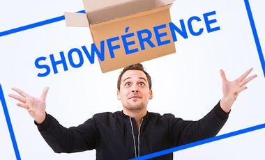 Visuel du projet JE LANCE MA BOITE, LA SHOWFÉRENCE !