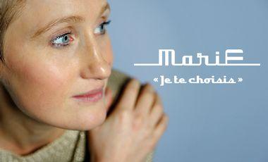 """Visuel du projet Premier EP de MariE  """"Je te choisis"""""""