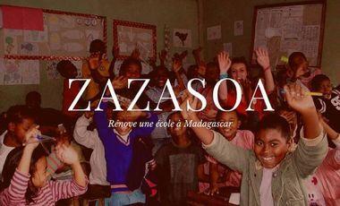 Project visual Zazasoa rénove une école à Madagascar.