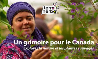 Visueel van project Un grimoire pour le Canada. Savourez la nature et les plantes sauvages.