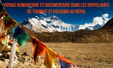 """Project visual Alex chez """"les enfants du Népal"""""""