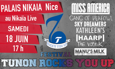 Visueel van project Festival Tunon Rock's You Up