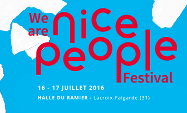Project visual We are NICE PEOPLE festival