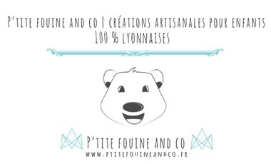 Visueel van project P'tite fouine and co | Créations artisanales pour enfants made in Lyon