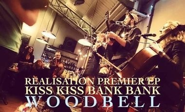 Visuel du projet 1er EP de WOODBELL (Trio de cordes Pop)