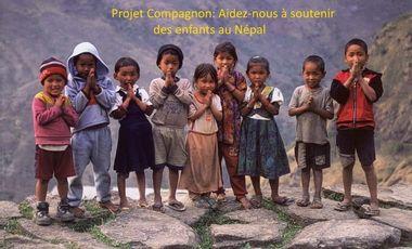 Project visual Projet Compagnon au Népal