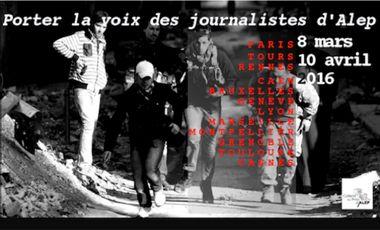 Project visual Porter la Voix des Citoyens-Reporters d'Alep 2