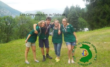 Project visual Les Compamoulox au Vietnam