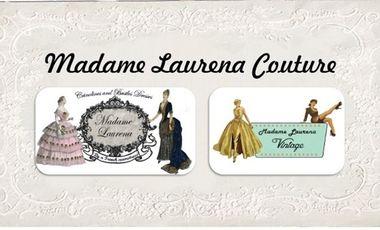 Project visual Madame Laurena, couture historique & vintage