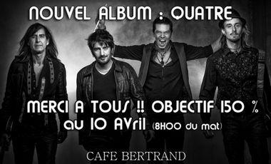 Project visual Café Bertrand Nouvel Album